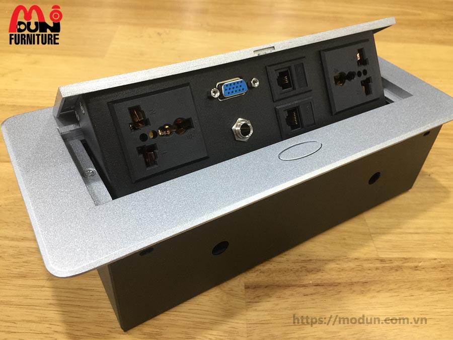 Hộp điện âm bàn HD-MD267-D