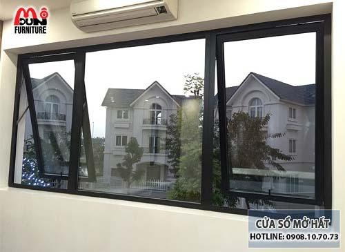 Cửa sổ mở hất nhôm Xingfa MD-NKCSH