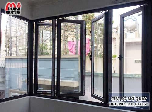 Cửa sổ mở quay nhôm Xingfa MD-NKCSQ