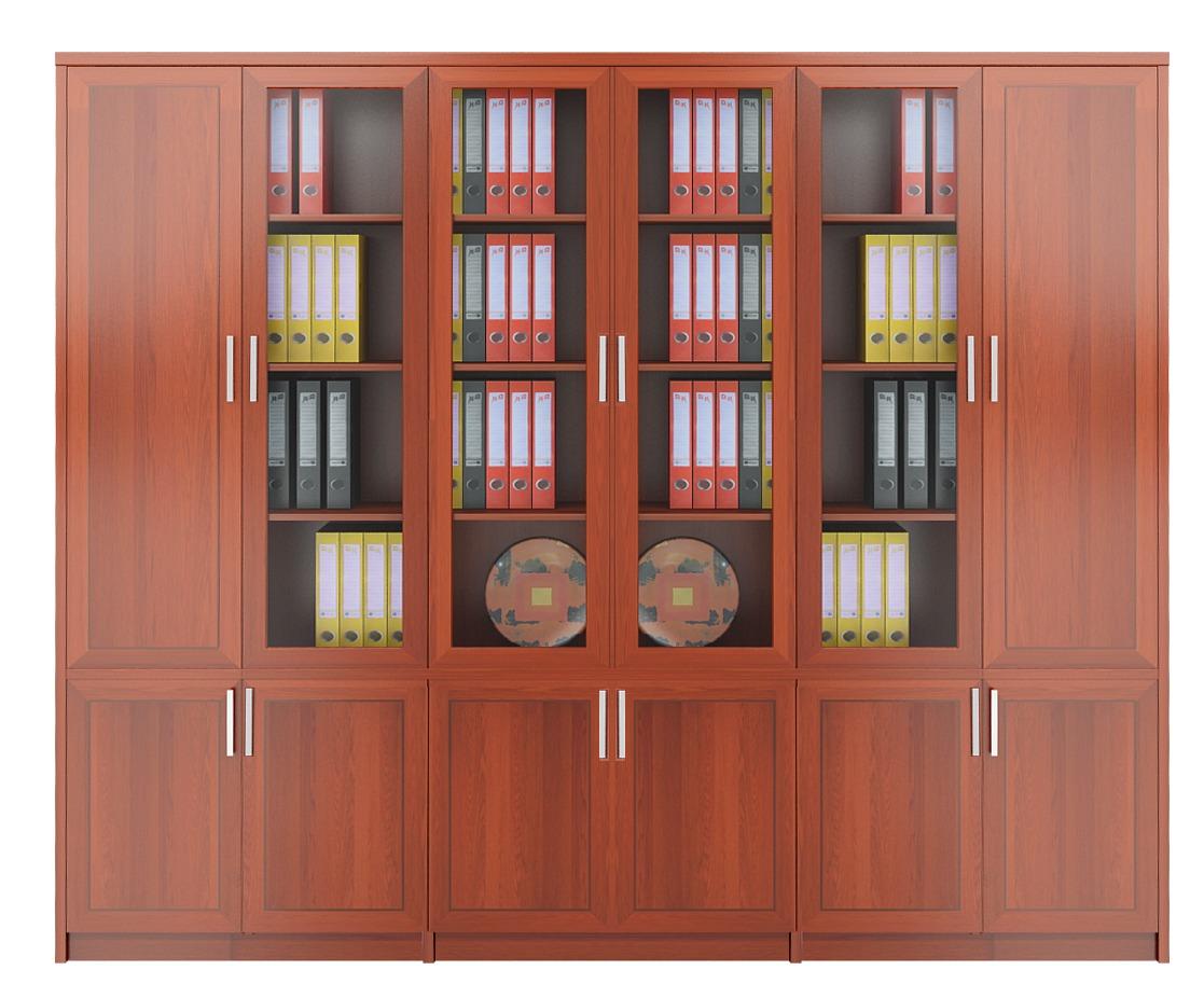 Tủ tài liệu gỗ 2 - TTL-MD82
