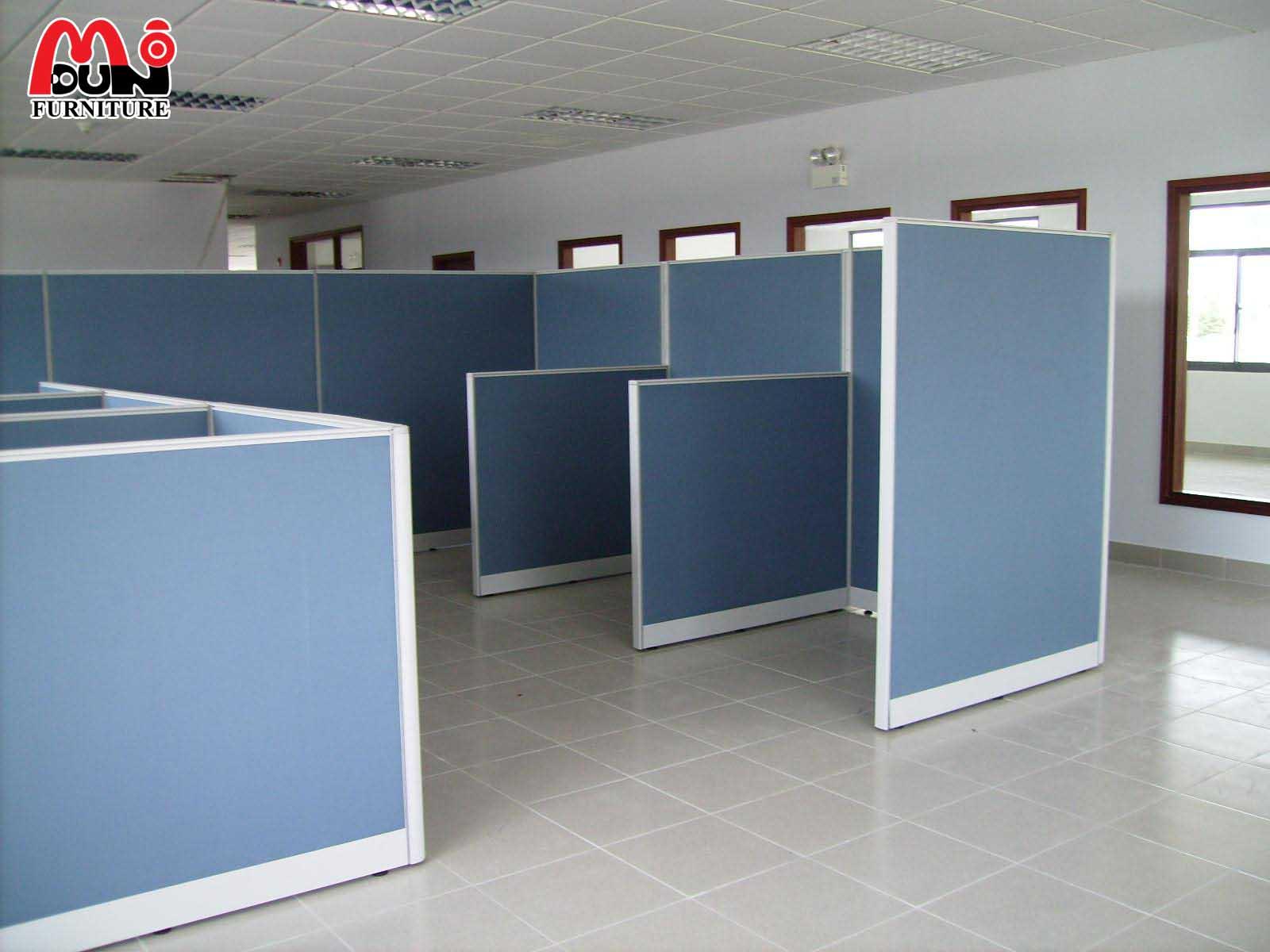Vách ngăn văn phòng bằng nỉ liền vách VVP-MD02
